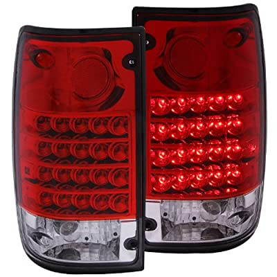 Anzo USA Toyota Pickup LED Tail Light Assembly - (Sold in Pairs)