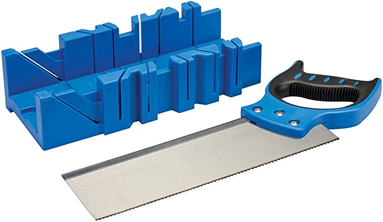 Silverline 335464 - Caja de ingletes con sierra (300 x 90 mm ...