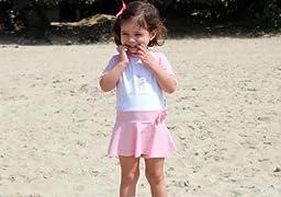 Sun Protective UV T-Shirt for Girls - Just Dance! - Little Scherrer