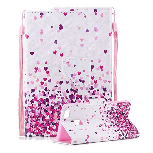 Aearl for Huawei P9 LITE Premium Flip Book Style PU...