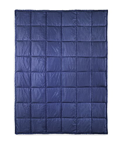DreamStill Weighted Blanket Therapy | For Kids and Adults to Improve High Quality Rest | Reduce Anxiety & Sleep Disruption Related to ADD, Autism Spectrum, Sensory and Insomnia 42 x 56 (Blue 7 Pounds)
