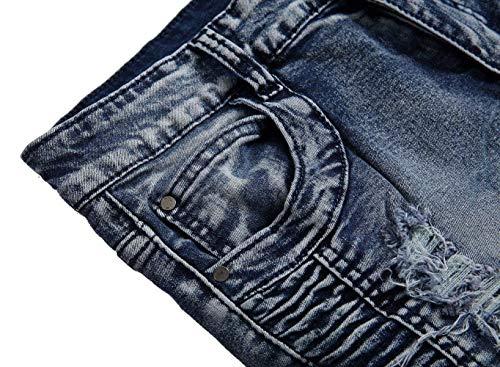 Fit Pantaloni De403grau Denim Uomo Da Regular Jeans Stonewashed Skinny Usati 1rw7Xrq