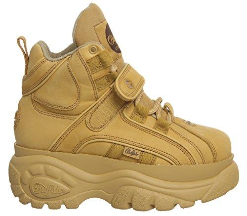 2 Chaussures Fauve Femme yellow 0 14 Tan 1348 Buffalo XwTRqgET