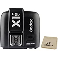 Godox X1T-C 2.4G E-TTL Wireless LCD Flash Transmitter for Canon Camera (X1T-C)
