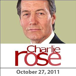 Charlie Rose: Amos Oz and Stephen Greenblatt, October 27, 2011 Radio/TV Program
