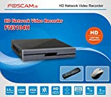 Foscam 960p 4-channel NVR / Network Video Recorder, FN3104H (Black) - Supports 4 X 960p (1.3MP) IP Cameras @ 30fps Realtime, PC Web Browser Remote Access, Feature-Rich OSD with Multiple Trigger & Alarm Events, ONVIF Compliance, USB Backup, I/O Alarms, Supports up to 4TB SATA HDD (Not Included) and More