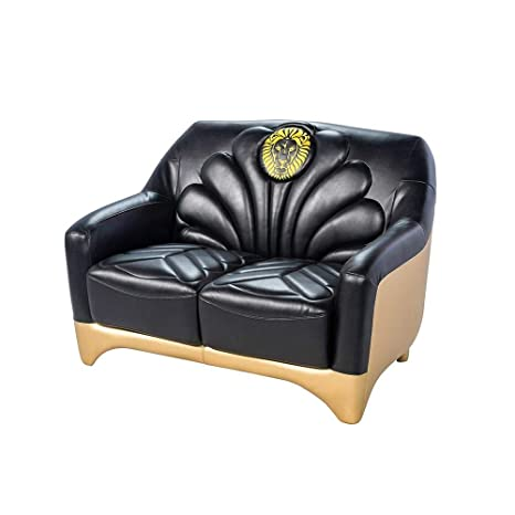 Sensational Amazon Com We The Best Home Dj Khaled Dipped 24K Loveseat Pabps2019 Chair Design Images Pabps2019Com