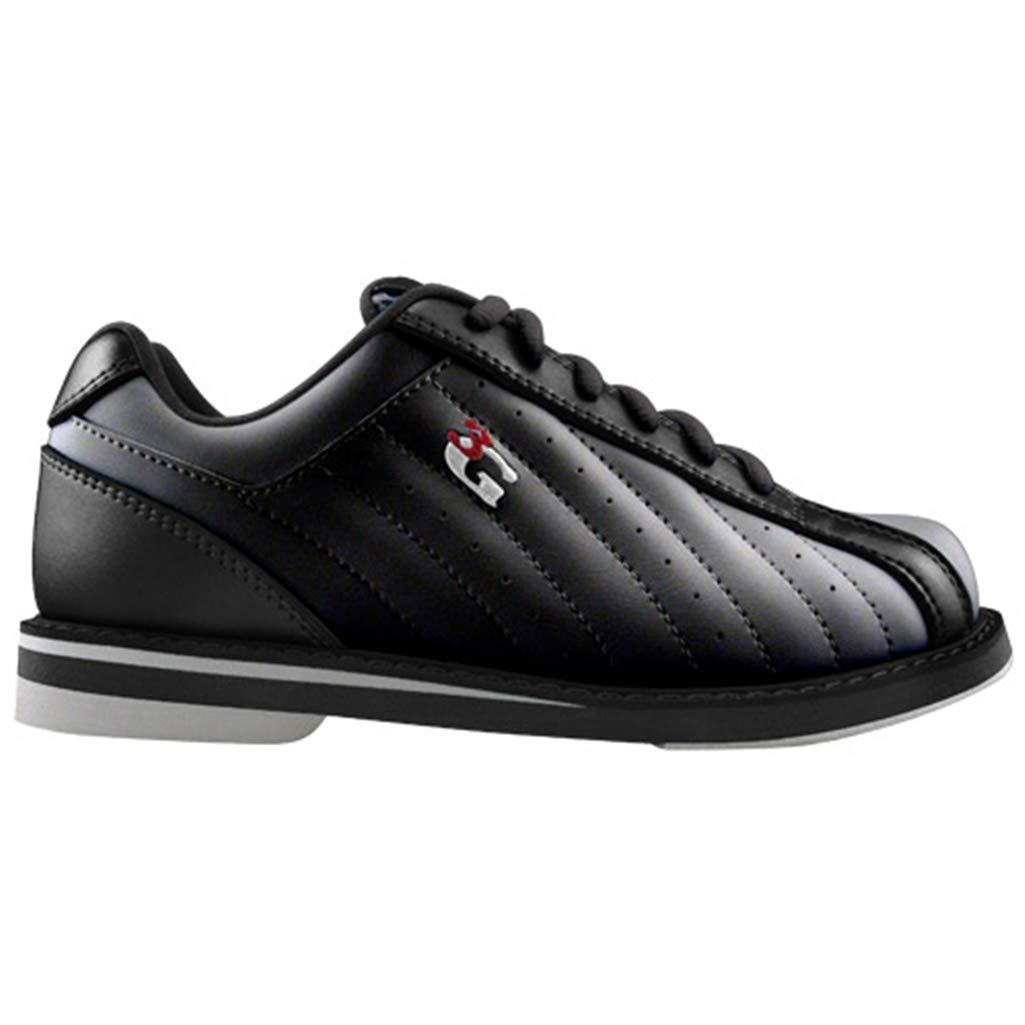 3G Kicks Unisex Black Bowling Shoes Wide Width