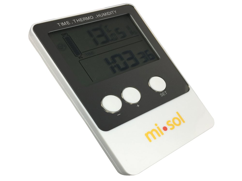 MISOL 1 PCS of Temperature humidity Data logger, USB Datalogger thermometer data record by MISOL
