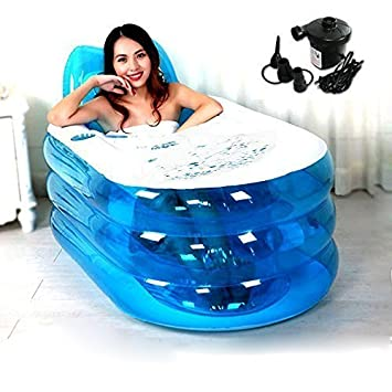 Opar New Foldable Durable Adult SPA Inflatable Bath Tub with ...