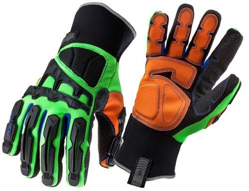 Ergodyne ProFlex 925F(x)WP Thermal Waterproof Dorsal Impact-Reducing Gloves, - Home Eyewear On Try