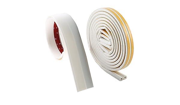 manyee meteorológica para desmontar puerta marco kit-white 2 x 16,5 Pies D Tipo 5 M) de goma de silicona 2