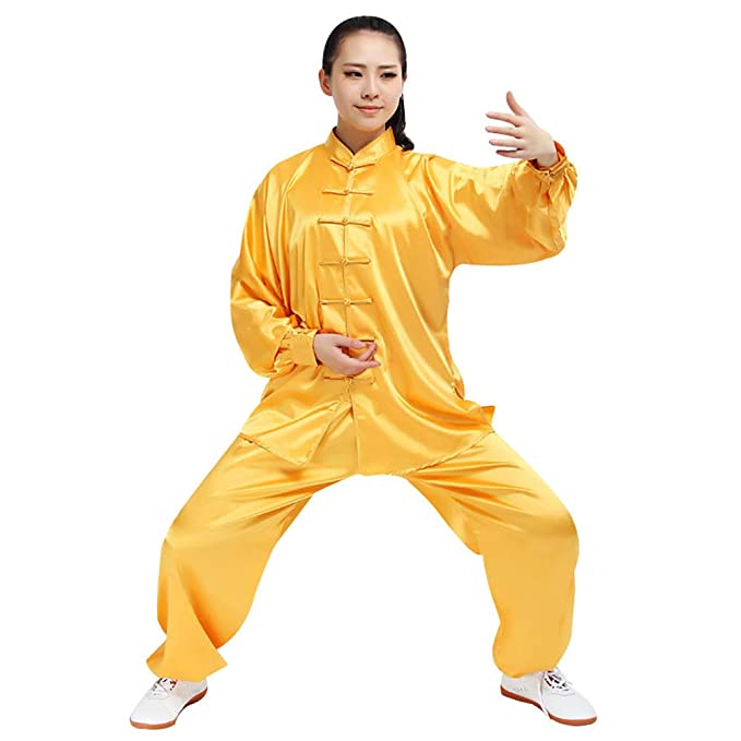 Amazon.com: Adult Traditional Tai Chi Uniform Lightweight ...