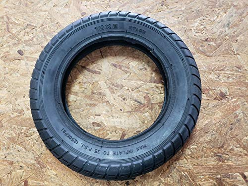 Qind 10 x 2 Tire and Inner tube combo, for Kid Schwinn Tricycle, baby stroller