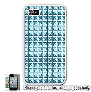 Blue Tribal Aztec Mayan Pattern For Ipod Touch 5 Case Cover Skin White