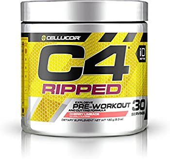 2-Pk. Cellucor C4 Ripped Pre-Workout Formula 6.34 oz Tub