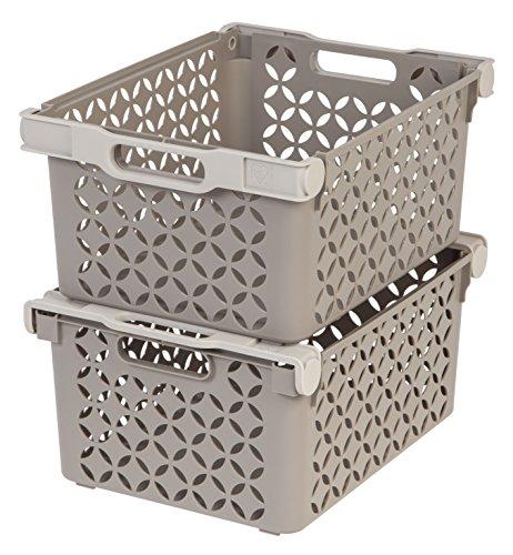IRIS Large Decorative Basket Pack