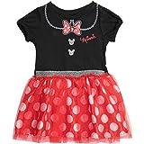 Disney Minnie Mouse Toddler Girls' Costume Tutu Dress - Black Red 5T