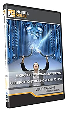 Microsoft Windows Server 2012 Certification Training - Exam 70-413 - Training DVD