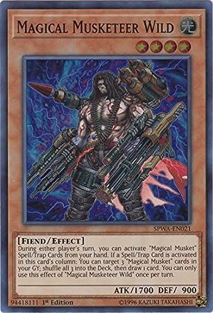 Dancing Needle SPWA-EN026 Secret Rare Yu-Gi-Oh Card 1st New Magical Musket
