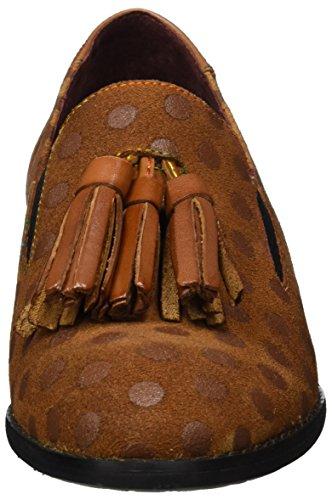 Laura Vita Damen Claudie 05 Slipper, Braun (Camel), 36 EU