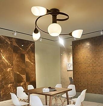LED Deckenleuchten für Wohnzimmer warm moderne Deckenleuchten ...