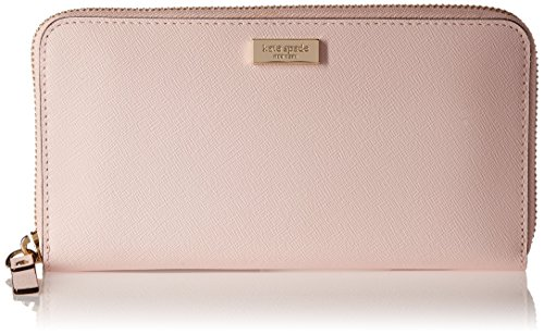 Kate Spade Newbury Lane Neda Ballet Slipper Pink Saffiano Leather Zip Around Wallet by Kate Spade New York