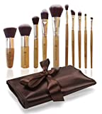 Bags Under Eyes Everyday Missam 10 Pcs Makeup Brushes For Face And Eye Cosmetics, Premium Synthetic Hair, With Brush Bag Organizer