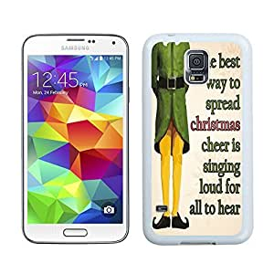S5 Case,Spread Christmas Cheer Samsung Galaxy S5 Phone Case,S5 I9600 TPU Cover Case by icecream design