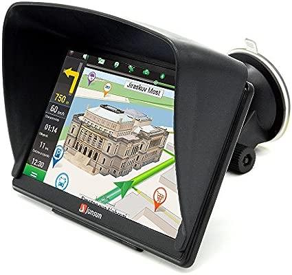 GPS Para Coche 8GB/256Mb DDR/800MHZ Actualización de Mapa De Europa Toda La Vida - Junsun