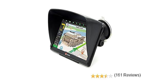 GPS Para Coche 8GB/256Mb DDR/800MHZ Actualización de Mapa De Europa Toda La Vida: Amazon.es: Electrónica