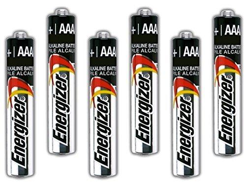 Six Energizer AAAA Alkaline Batteries for