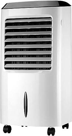 Climatizador Portátil Frío, Climatizador Evaporativo Portátil Ventilador de Aire Acondicionado Casa Oficina Silencioso Enfriador de Aire Humidificador: Amazon.es: Hogar