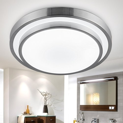 Lightinthebox modern round flush mount led ceiling light Modern kitchen light fixtures