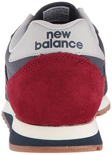 blu pelle 520 blu Sneakers Balance in scamosciata Men New aAPqxw88
