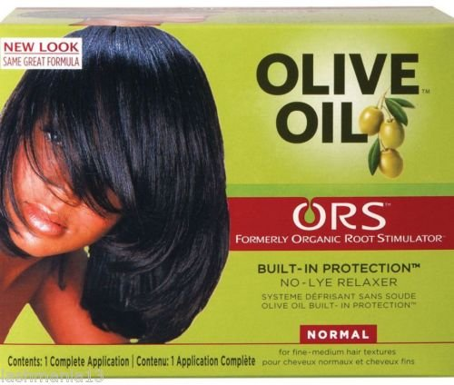 Ors Organic Root Stimulator Olive Oil No Lye Hair Relaxer-Normal -