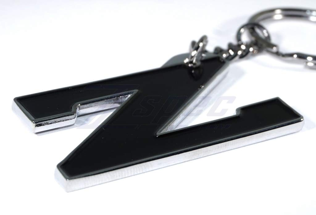 ZSPEC Z Key-Chain Black /& Chrome for Nissan Z31 300zx