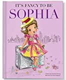 Personalized Custom Birthday Book for Girls About Imagination Dress Up and Self Esteem for Girls