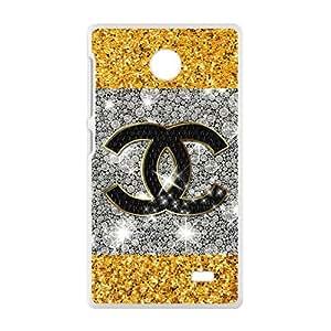 Famous brand logo Chanel design fashion cell Cool for Nokia Lumia X