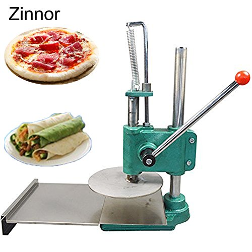 Zinnor Household Pizza Dough Pastry Manual Press Machine BIg Dough Roller Dough Sheeter Pasta Maker Tools Cough Presses Large Pasta Maker Machine