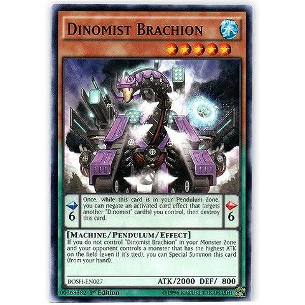 BOSH-EN027 Unlimited Edition Common 3x Dinomist Brachion