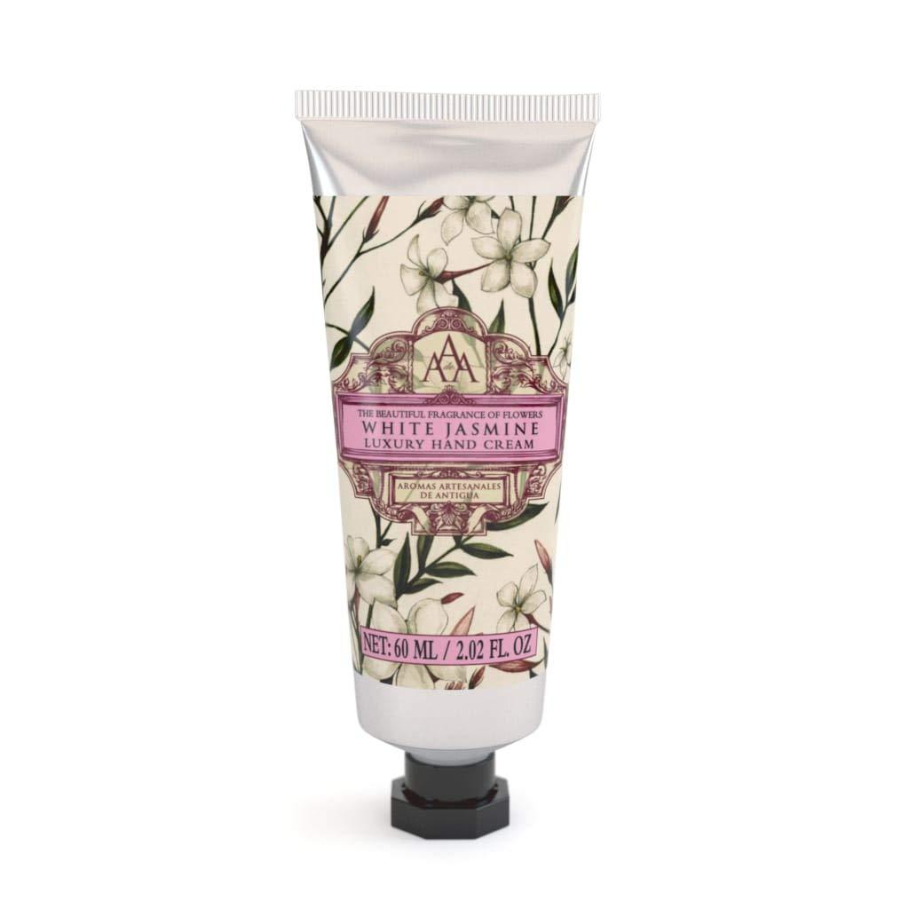 AAA - Luxury Hand Cream with Shea Butter - White Jasmine - 60 ml / 2 fl oz