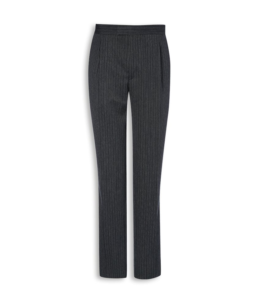 Alexandra Stc-nm40ch-28a pour homme Matin Pantalon à rayures, UNI, Extra Tall, 50% polyester/50% viscose, taille