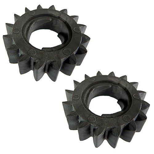 M83184 (2) 16 tooth Starter Drive Gear Fits Briggs & Stratton 693058 693059 ()