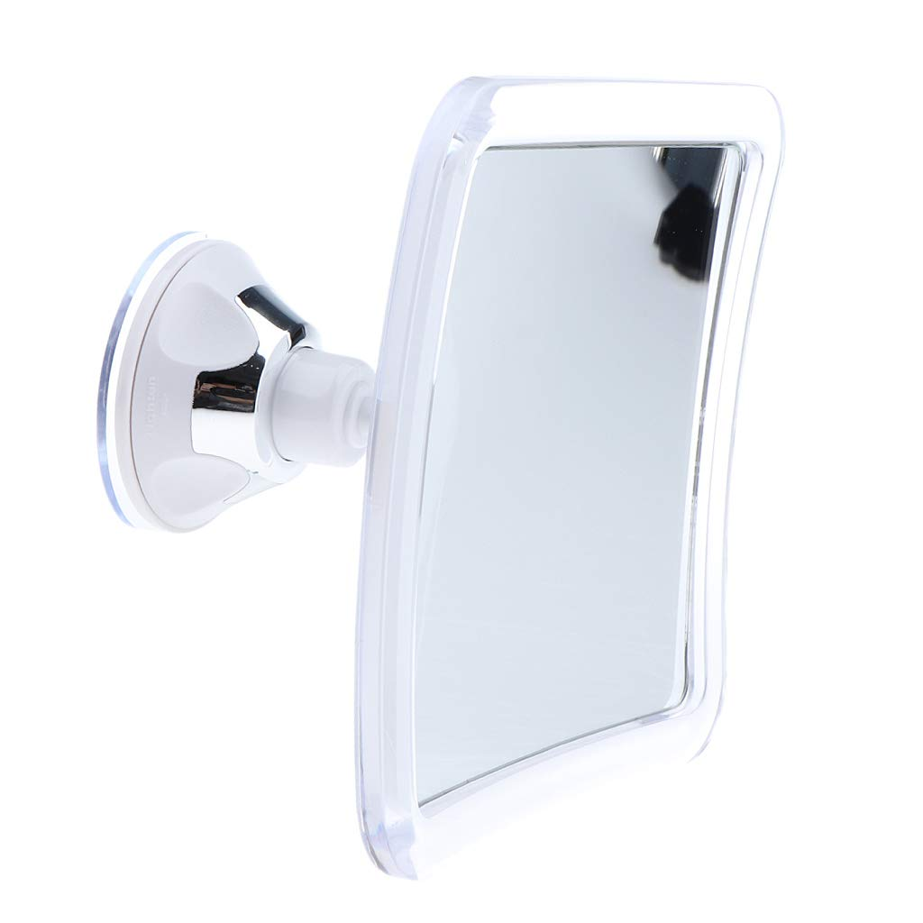 Sharplace Miroir Grossissant Miroir Maquillage 7X Miroir Cosmétique Ajustable à 360 Miroir Portable De Voyage de Douche et Maquillage Salle de Bain