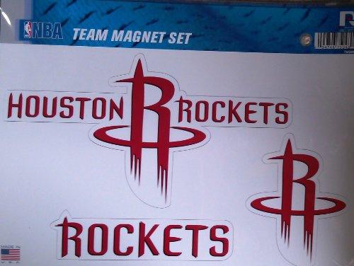 NBA Houston Rockets Team Magnet Set