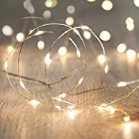 String Lights,Bienna [Waterproof] [Battery Operated] 100 LED 33ft/10M Copper ...