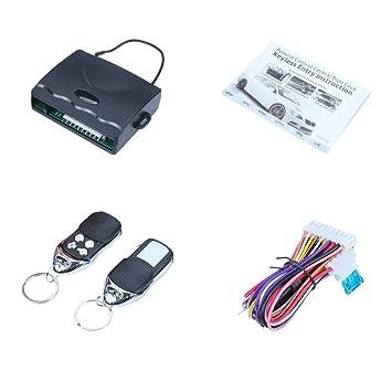 Auto Door Lock >> Amazon Com Eforcar Central Car Remote Lock Universal Keyless Entry