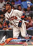 #8: 2018 Topps Opening Day #13 Ozzie Albies Atlanta Braves Rookie Baseball Card