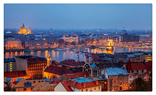 Hungary Houses From above Budapest Cities travel sites Postcard Post card